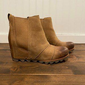Sorel Lea Wedge Boot,  tan